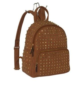 2018 Ss Full Studs Lady Designer Fashion Backpack (ZXK1573) pictures & photos