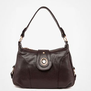 2017 Hot Sale Diamond Button Slouch Bags Leather Handbags