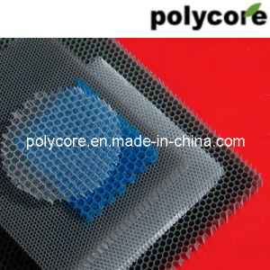 Polycarbonate Honeycomb Plastic Honeycomb pictures & photos