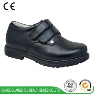 School Footwear Kids Health Shoes with Arch Support to Prevent Flat Foot pictures & photos