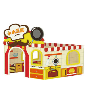 Theme Kitchen Kid Wooden House Play Toy pictures & photos