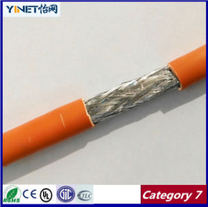 Ethernet Cable Cat7 1000FT S-FTP Twisted Pair, 1200MHz 10gbase-T Data, Bare Copper 23AWG Installation Cable pictures & photos