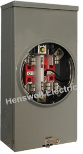 7 Jaw 200A Meter Socket pictures & photos