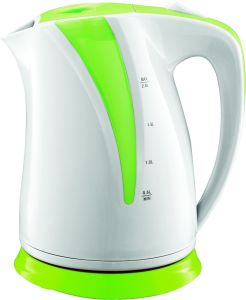 Electric Plastic Kettle 360 Degree Cordless with LED Light Fx-818 pictures & photos