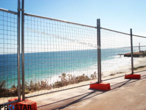 Provide Safety Temporary Fence with Atni-Aging Plastic Feet pictures & photos