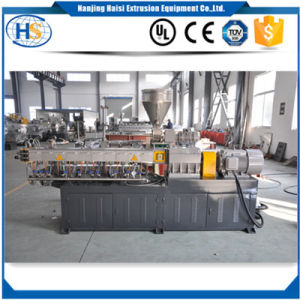 Nanjing Haisi Tse-30 Mini Plastic Lab Twin Screw Extruder Machine pictures & photos