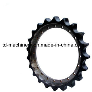 Chain Sprocket Excavator in Excavator Crawler Excavator Sprocket Components Parts China OEM pictures & photos