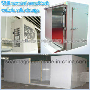 Wall Mounted Monoblock Walk in Cold Storage pictures & photos