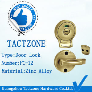 Elegant Toilet Partition Double Sided Design Door Lock with Handle pictures & photos