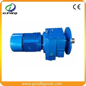 Solid Shaft Helical Transmission Gearbox pictures & photos