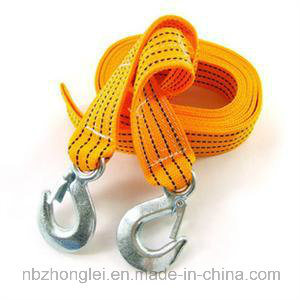 Synthetic Towing Strap with Latch Hook for Winch/Vehicle pictures & photos