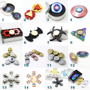Resident Evil Aluminum Fidget Spinner Hand Toy for Children pictures & photos