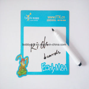 Customized Memo Pad Magnetic Paper Notepad for Fridge pictures & photos