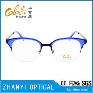 No MOQ Fashion Stainless-Steel Eyewear Eyeglass Glasses Optical Frame (S8201) pictures & photos
