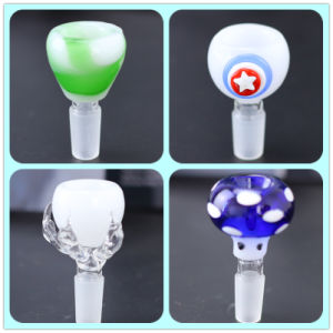 Gem and Mushroom Design Glass Slide Bowl for Smoking Czs-008 pictures & photos