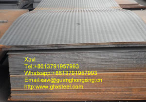 Hot Rolled Checkered Steel Plate, Checkered Plate Q235 pictures & photos