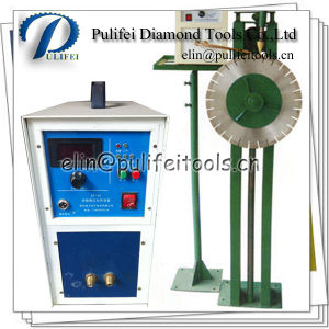 Manual Rack High Frequency Induction Machine Weld Diamond Segment Blade pictures & photos