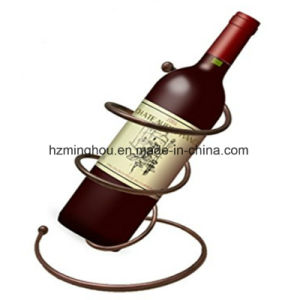 Decor Tabletop Spiral Design Wine Bottle Holder for Home pictures & photos