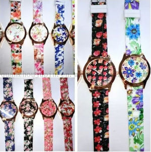 OEM Logo High Quality Countryside Silicone Ladies Quartz Watch pictures & photos