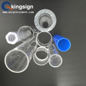 Clear Thin Drilling Acrylic Tube pictures & photos