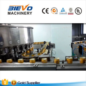 Automatic Energy Saving Liquid Drinking Tin Can Filling Machine pictures & photos