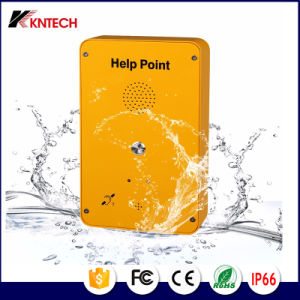 Emergency Phone Weatherproof Phone Knzd-39 Intercom System for Metal Mining pictures & photos