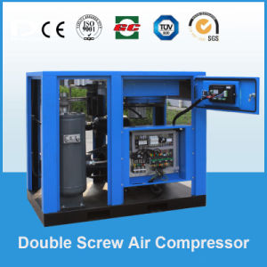 18.5kw/25HP, 07/0.8/1.0/1.3MPa Professional Manufacturer of Direct Driven Rotary Screw Air Compressor pictures & photos