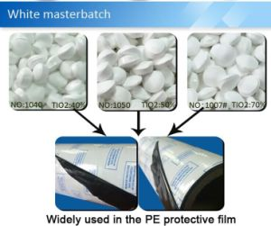 Film Grade White Masterbatch pictures & photos
