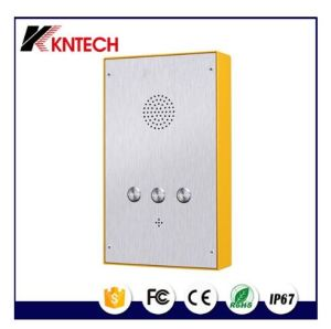 Stainless Steel Hands-Free Phone Knzd-48 Emergency Phone Automatic Dial Phone pictures & photos