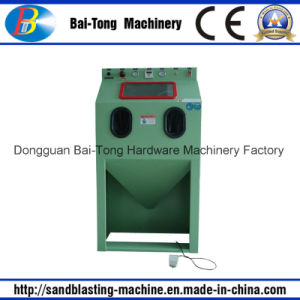 Widely Used Manual Steel Products Dry Sandblasting Machine Cabinet pictures & photos
