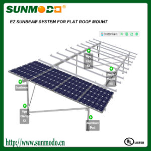 Concrete Footing Solar Array Mounting Systems for Home pictures & photos