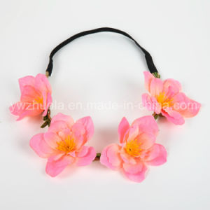 Fabric Elastic Hair Band Flower for Women pictures & photos