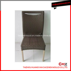 Armless Plastic Rattan Chair Mould Manufacture in China