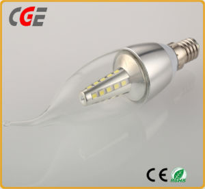 Dimmable SMD LED Candle Light Bulbs 4W pictures & photos
