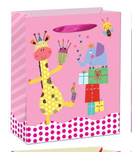 4c Print Colorful Baby Design Party Gift Bag pictures & photos