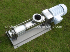 Xinglong Sanitary Progressive Displacement Single Screw Pump Used in The Beer Brewing Processing pictures & photos