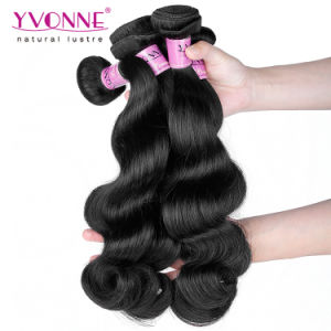 Fashion Body Wave 100% Remy Cambodian Human Hair pictures & photos