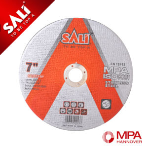 Zirconia Aluminum T41 3mm Cutting Disc for Stainless Cutting Disc pictures & photos