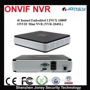 Joney NVR Video Recorder H. 264 Smart Mini Network 1080P 8 Channel  pictures & photos