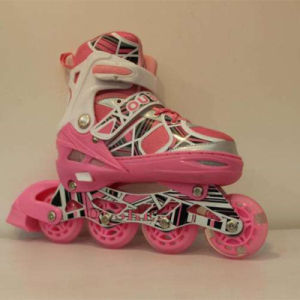 Retractable Kids Roller Skate Shoes pictures & photos