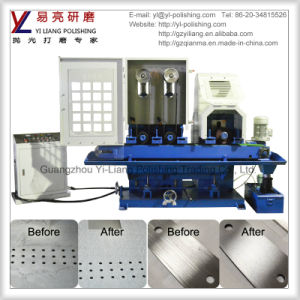 Stainless Steel Gear Flat Surface Wire Finishing Wet Belt Grinder pictures & photos