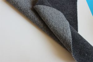 Two Faces Knitted Woolen Fabric For Overcoat Wear pictures & photos