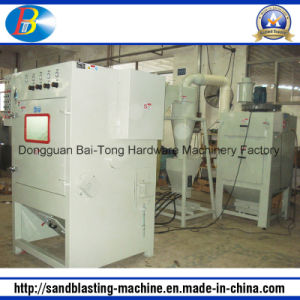 Belt Type Auto Sandblasting Sand Blasting Machine pictures & photos