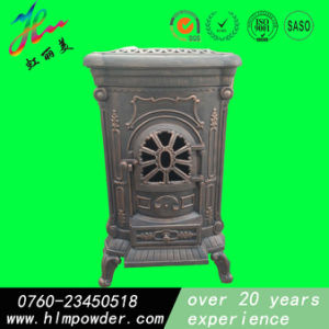 Heat Resistant Powder Coating for Cast Iron Fireplace pictures & photos