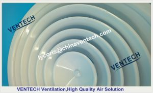 Ventilation System Diffuser with Damper Aluminum Round Diffuser pictures & photos