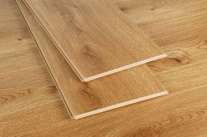 Light Embossed Laminate Wood Flooring pictures & photos