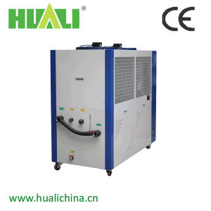 High Efficiency Air Cooled Industrial Water Chiller for Plastic Use pictures & photos