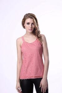 Women Summer Plain Ladies Vest Tops Lace Tank Top Women pictures & photos