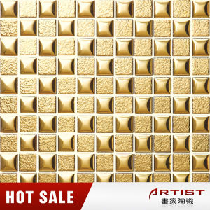 Gold Color Mosaic Ceramic Hand, Ceramic Mosaic pictures & photos