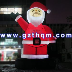 High Christmas Giant Inflatable Santa Claus/Inflatable Christmas Outdoor Decorations Santa pictures & photos